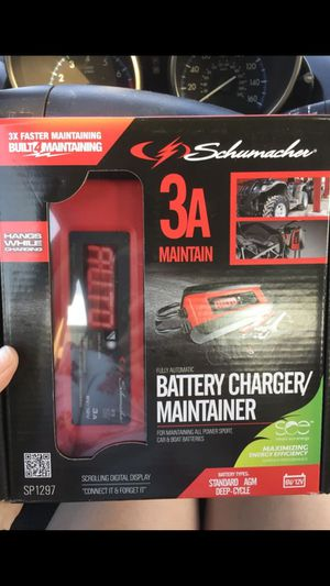 Schumacher Battery Jumper/Maintainer/Charger for Sale in Dallas, TX