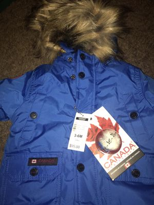 Canada Goose Weather 6-9M Snow Suit for Sale in Washington, DC