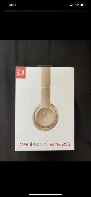 Beats solo 3 wireless for Sale in San Diego, CA
