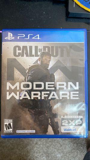 Call of duty: Modern Warfare for Sale in DeWitt, MI