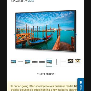 NEC monitor 55 inches for Sale in Kent, WA