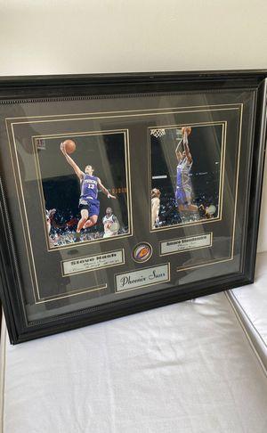Phoenix Suns custom framed photos Steve nash and amare for Sale in Phoenix, AZ