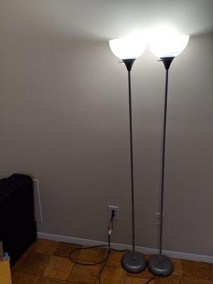 2 Floor Lamps for Sale in Richmond, VA