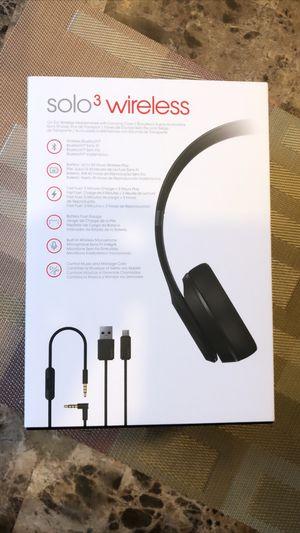 Beats Solo 3 Wireless for Sale in Brockton, MA