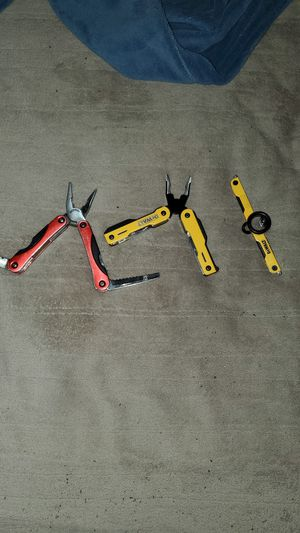 Pocket knife and tool wrenches best offer by Tuesday gets them for Sale in Fogelsville, PA
