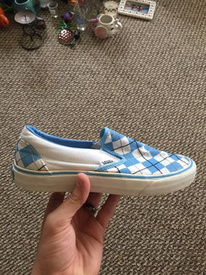 Blue checkered Vans for Sale in Beaver Meadows, PA