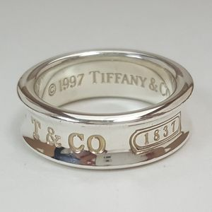 Tiffany & Co 925 Sterling Silver T&Co 1837 Band for Sale in Boca Raton, FL