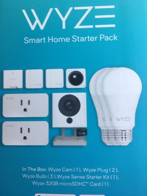 New Wyze Smart Home Starter Pack for Sale in Akron, OH