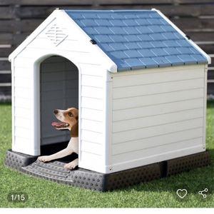 Indoor/Outdoor Waterproof Plastic Dog House Pet Puppy Shelter for Sale in Hacienda Heights, CA
