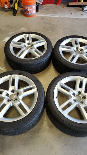 Audi wheels and tires 255/40 ZR19 for Sale in Covington, WA