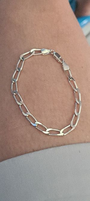 925 SOLIS SILVER LINK BRACELET for Sale in Sunrise, FL