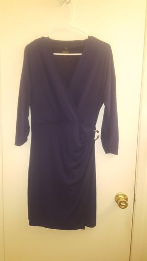 Dress dark blue size 10 never used for Sale in Fremont, CA