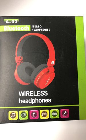 BLUETOOTH STEREO WIRELESS HEADPHONE iPhone Samsung Galaxy LG for Sale in Brea, CA
