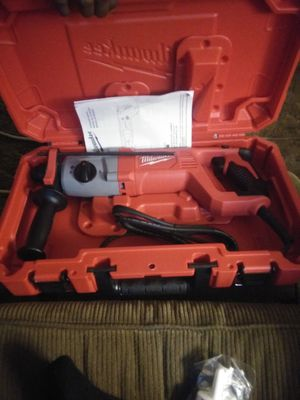 Milwaukee corded rotary hammer drill 25mm 120v for Sale in Philadelphia, PA
