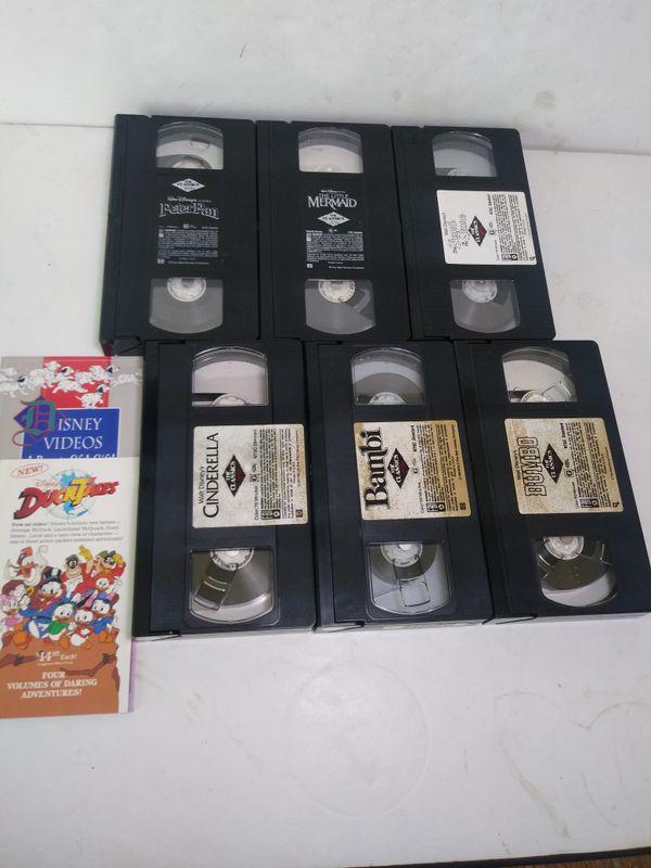 Black Diamond Disney VHS Movies