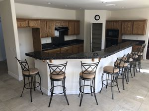 Beautiful swivel bar stools! Perfect for any bar or kitchen!! for Sale in Las Vegas, NV