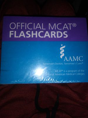 MCAT flash cards for Sale in Littleton, CO