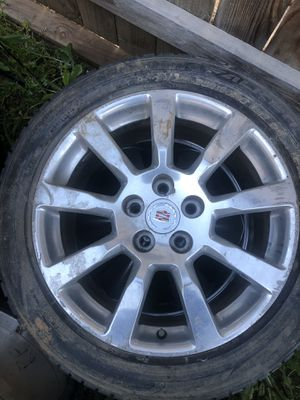 Cadillac CTS wheels only 3 for Sale in Dinuba, CA