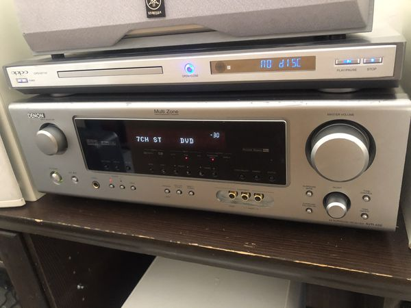 DENON / Polk Audio Complete Dolby Digital Home Theater System w/ Bluetooth adapter & DVD/CD/CDMp3 Player $275 only