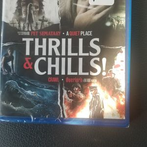THRILLS & CHILLS 4 MOVIE COLLECTION for Sale in Laveen Village, AZ