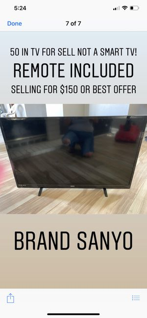50 inch tv for Sale in Perris, CA
