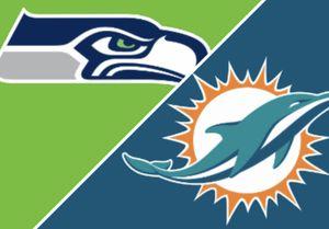 2020 SEATTLE SEAHAWKS vs MIAMI DOLPHINS TICKETS (2) 10/04 1PM SEC 305 for Sale in Estero, FL