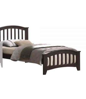 Twin Bed - 04980T - Dark Walnut UTRA for Sale in Ontario, CA