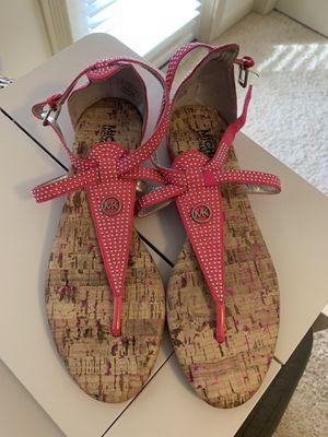 Michael Kors Rhinestone Fuschia Flats / Sandals for Sale in Bonita Springs, FL