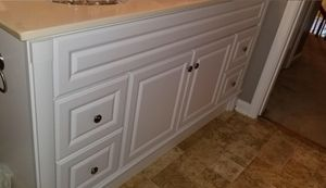 Double sink vanity for sale with top for Sale in VA, US