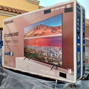 "55"" SAMSUNG CRYSTAL UHD HDR SMART TV for Sale in Riverside, CA"