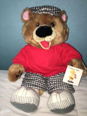 "New with tags Susie's zoo Hugo bear plush stuffed animal 18"" Rare for Sale in El Cajon, CA"