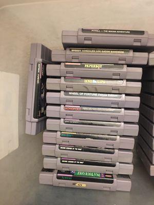 13 Super Nintendo Games for Sale in Chino, CA