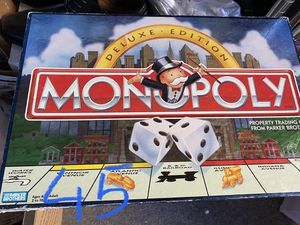 Monopoly board game for Sale in Palmdale, CA
