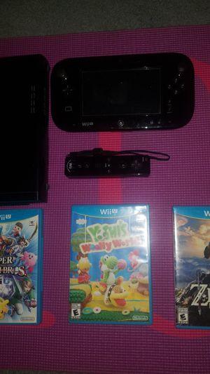 Wii U Bundle for Sale in Hacienda Heights, CA