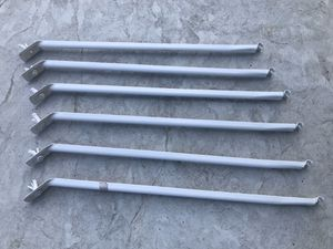 Metal shelf uprights/supports x6 for Sale in San Jose, CA