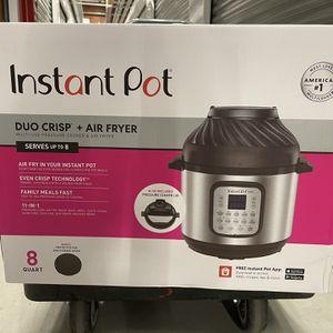 NEW!! Instant Pot Duo Crisp + Air Fryer for Sale in Chula Vista, CA