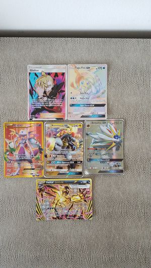 Really rare GX and Break Pokemon cards for Sale in Covington, KY
