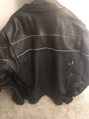 Leather Motorcycle Riding Jacket for Sale in Ashburn, VA