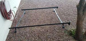 Queen metal bed frame for Sale in Chandler, AZ