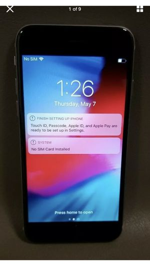 iPhone 6 AT&T unlocked 16G firm price for Sale in Kennewick, WA