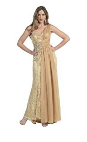 Dress gold color for Sale in Hillsborough, CA