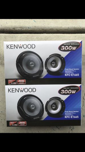 Kenwood 6.5 inch speakers for Sale in Chino Hills, CA