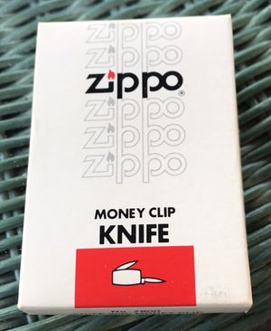 Zippo Money Clip With Advertising for Sale in Ponte Vedra Beach, FL
