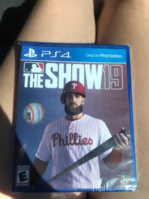 PS4 The Show19 for Sale in Marana, AZ