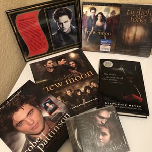 Twilight Movie & Books $35 for Sale in Tracy, CA