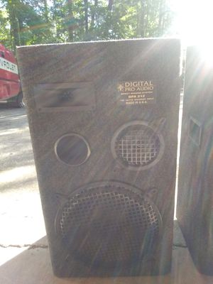 Digital Pro Audio Speakers for Sale in Stockbridge, GA