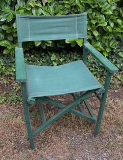 Vintage folding director chair for Sale in Tacoma,  WA