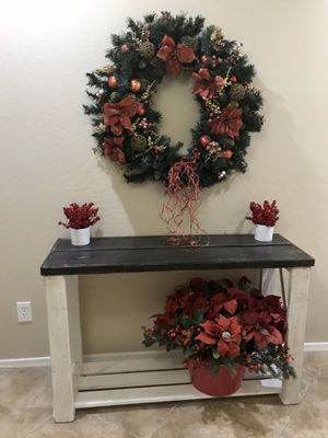 🌲$100 HOLIDAY TABLES custom made to order farmhouse tables sofa entryway console buffet sideboard for Sale in Laveen Village, AZ