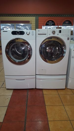 LG/Samsung washer and dryer for Sale in Duluth, GA