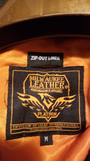 Milwaukee leather motorcycle jacket for Sale in House Springs, MO